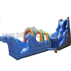 GWS-121 Rainbow water slide N slip
