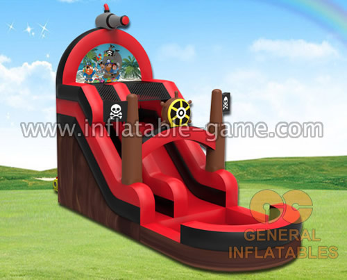 Pirate water slide