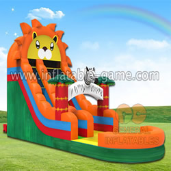 GWS-186 Lion water slide