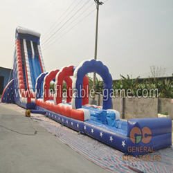 GWS-209 34ftH water slide