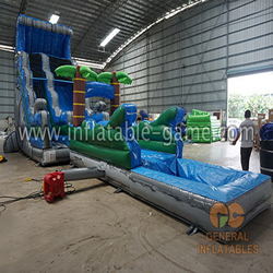 GWS-231 Jungle water slide n slip