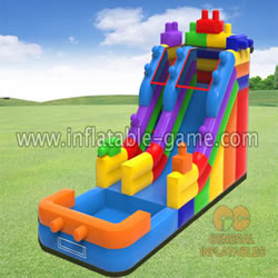 GWS-272 Building block water slide
