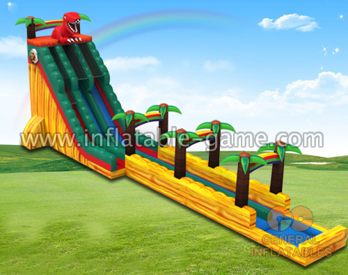 Dino water slide n slip